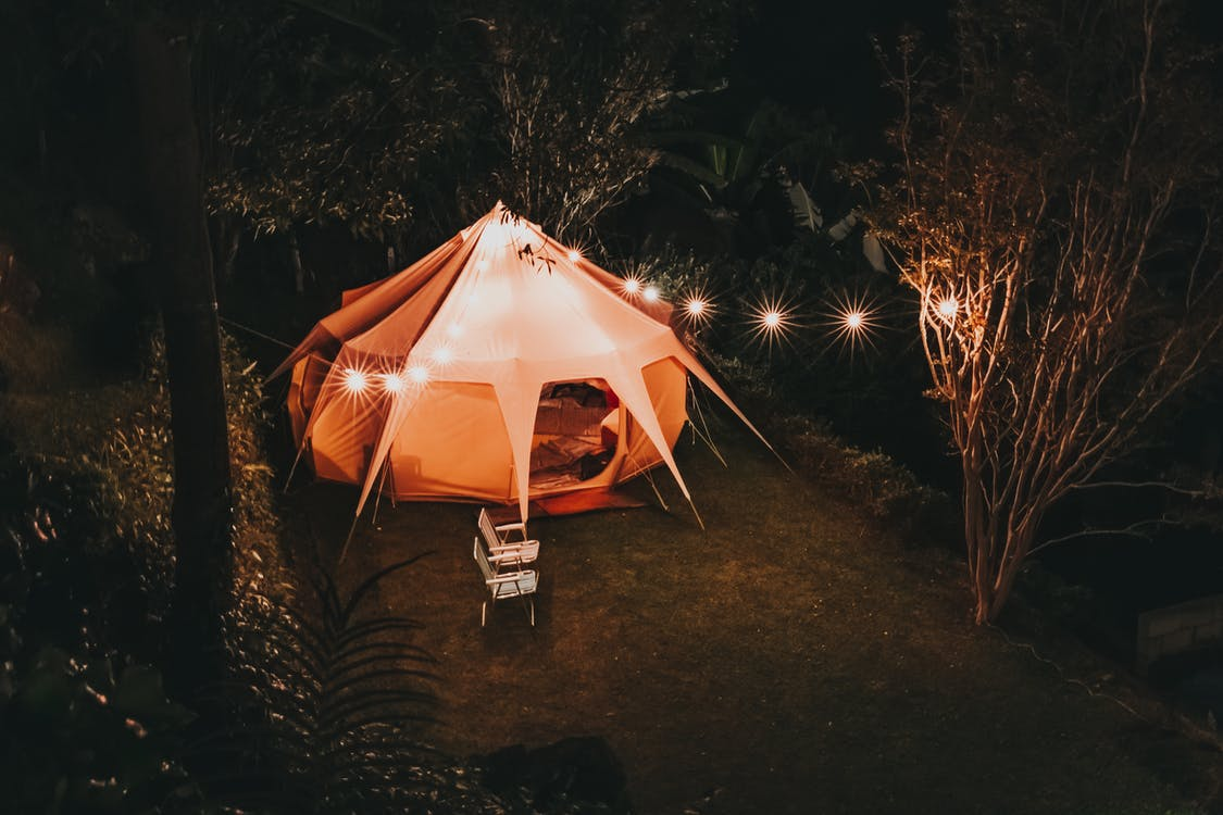 An Eco-Friendly way to light up your campsite